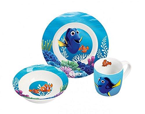 Disney 12789 findet Dorie de Porcelaine Multicolore, 22,5 x 9,5 x 19,5 cm, 3 unités