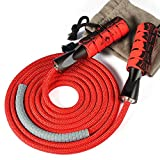 Denvosi Professional Jump Rope Workout, Overstriking Weighted Ball Bearing Weighted Cotton Rope...