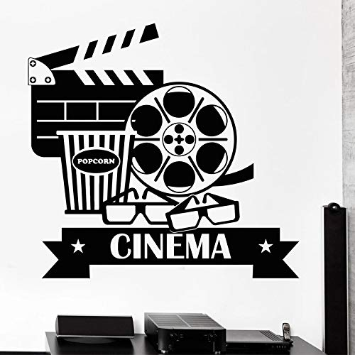 Adesivo da parete per film Cinema Pellicola per fotocamera Adesivo da parete per riprese Pellicola per proiezioni Decorazione da parete Adesivo da parete A9 57x60cm