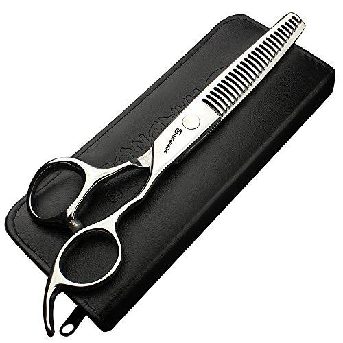 6 Zoll Haar dünn Schere Fisch Knochen Haarschere Friseur Barber Schere 25% 70% um Volumen Haar