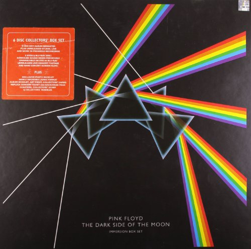 Dark Side Of The Moon Immersion Box (3 CDs, 2 DVDs, 1 Blu-ray)
