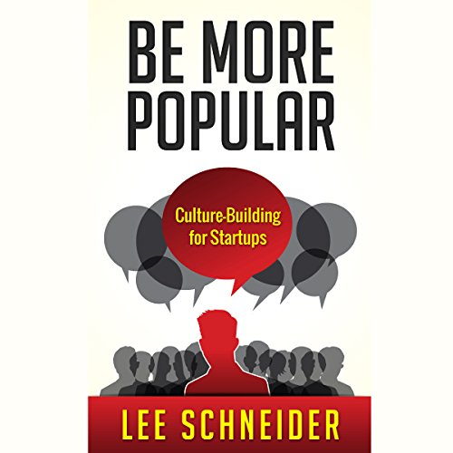 Be More Popular audiobook cover art