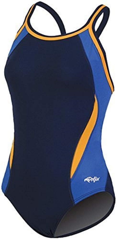 Dolfin Women's Reliance colorblock DBX Back Swimsuit