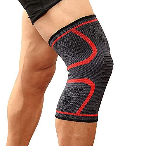 kniebeugel, compressie knie sleeve voor pijn verlichting, meniscus traan, ACL, voor hardlopen, joggen, wandelen, basketbal, rijden- mannen en vrouwen