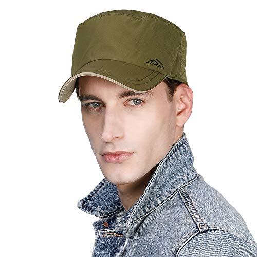 Jeff & Aimy Adjustable Dad Military Hat Army Cadet Field Radar Baseball Cap...
