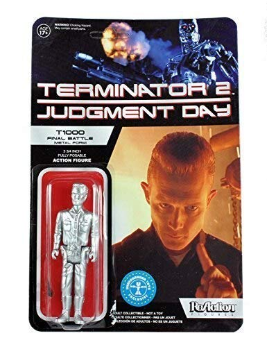 Terminator 2 Judgement Day T1000 Final Battle Metal Form 3 3/4 Inches Retro Action Figure