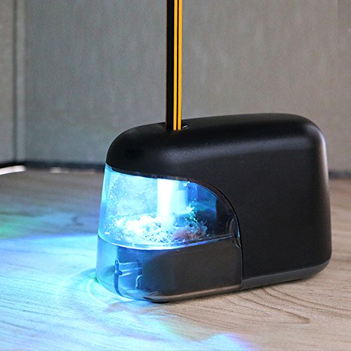 Eagle Battery Operated Electric Pencil Sharpener with LED Light Shining...