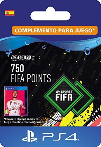 FIFA 20 Ultimate Team - 750 FIFA Points DLC - Código de descarga PS4 - Cuenta española