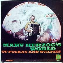 MARV HERZOG WORLD OF POLKA'S AND WALTZ'S vinyl record