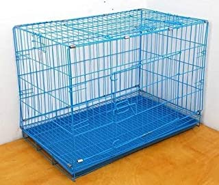 Dog CAGE 42 INCHES Big Size Blue Color