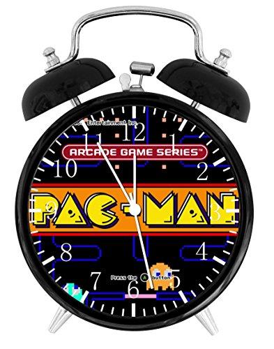 Alarm Clock Pac Man Pac-Man Wecker mit Zwei Glocken, 10,2 cm, Heim- und Bürodekoration, F28