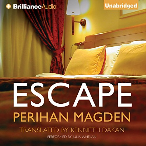 Escape                   By:                                                                                                                                 Perihan Magden,                                                                                        Kenneth Dakan (translator)                               Narrated by:                                                                                                                                 Julia Whelan                      Length: 6 hrs and 7 mins     4 ratings     Overall 3.3