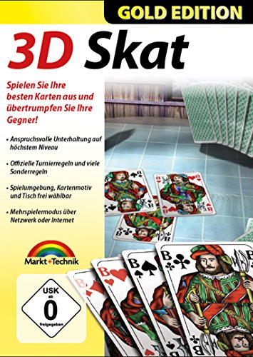 3D Skat Gold Edition - Premium Kartenspiel für Windows