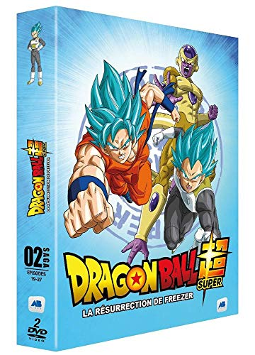 Dragon Ball Super - Saga 02 - Épisodes 19-27 : La Résurrection de Freezer [DVD]