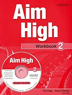 Aim High Level 2 Workbook & CD-ROM: A new secondary course which helps students become successful, independent language learners