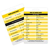 Lab Values and Glucose Lab Values Reference Vertical Badge Card - Excellent Resource for Nurses, Nursing Clinicals, and RN Students