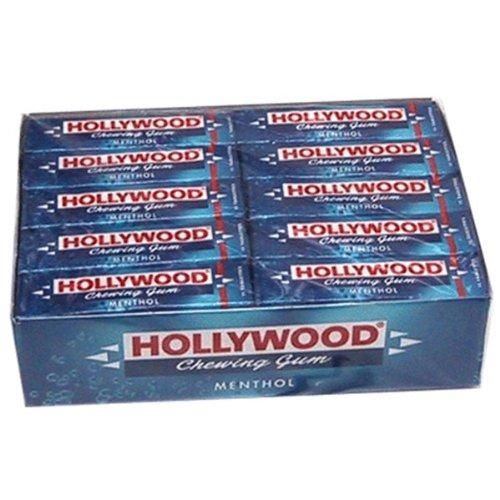 Hollywood - Lote de 20 estuches con 11 chicles de chicle, color menta: Amazon.es: Hogar
