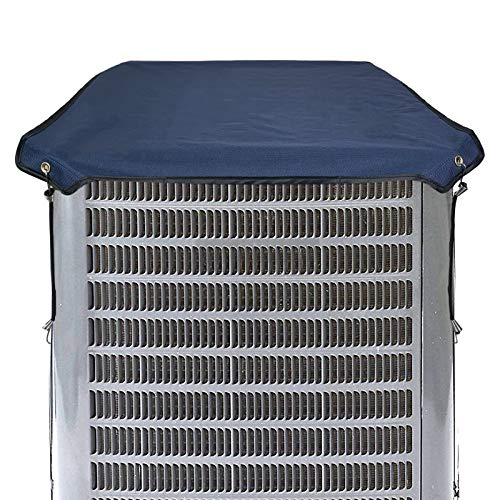 Homydom Durable Winter Top Air Conditioner Cover for Outside Units, AC Cover Hard Cover for AC Unit Waterproof Material, Snow-Resist,28 x 28 Inches