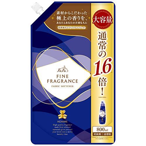 【大容量】 ファーファ ファインフレグランス 濃縮柔軟剤 オム (homme) 香水調クリスタルムスクの香り 詰替...