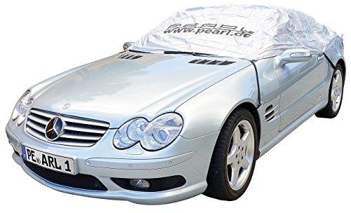 PEARL Auto Haube: Auto-Halbgarage für Mittelklasse, 355 x 140 x 59 cm (Halbgarage fürs Auto)