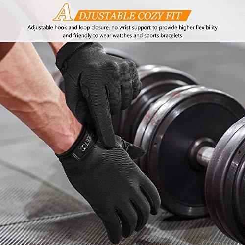 FREETOO Full Finger Workout Gloves