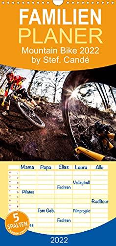 Mountain Bike 2022 by Stef. Candé (Wandkalender 2022, 21 cm x 45 cm, hoch)