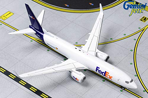 GeminiJets GJFDX1854 1:400 FedEx ボーイング 737-800(BCF) 飛行機モデル