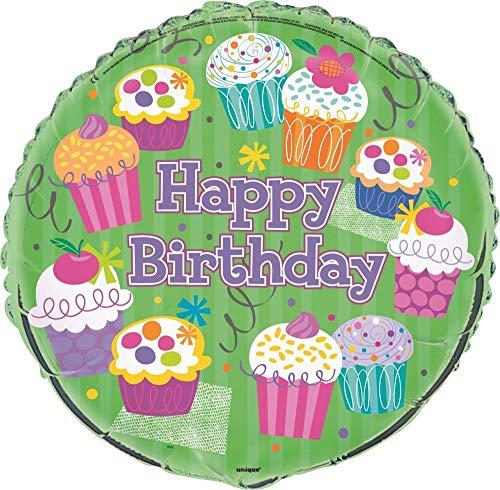 Cupcake Verjaardagsfeestbenodigdheden Folie Ballon 18