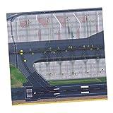 lahomia 1: 500 1: 400 Modelo Aeropuerto Diseño de Delantal Puerta de Pasajeros Torre Aeropuerto Diorama