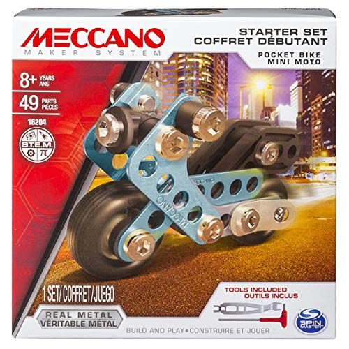 Meccano Starter Set Pocket Bike