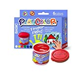 Playcolor Finger Paint 40ml - Pintura De Dedos - 6 Colores surtidos - 17591