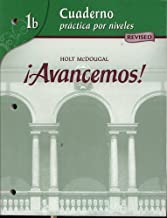 ?Avancemos!: Cuaderno: Practica por niveles (Student) Level 1B (Spanish Edition) by MCDOUGAL LITTEL (2006-05-08)