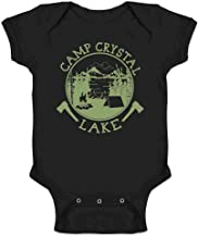 Pop Threads Camp Crystal Lake Counselor T Shirt Horror Costume Infant Baby Boy Girl Bodysuit