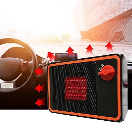 WXJWPZ 24VZusatzheizung 12 V für 24V-350W Autoheizungen Entnebeln und Abtauen Geräuschlose elektrische Heizungen Autoheizungen