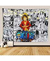 Tapestryワンピースアニメタペストリー壁掛けの装飾のための10代のリビングルーム背景ポスターファッションアート家の装飾 (Color : B, Size : 264*224)