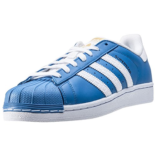 adidas Originals Superstar Sneaker S75881 Ray Blue/White Gr. 38 2/3 (UK 5,5)
