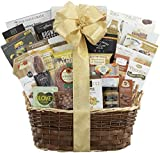 wine baskets for gifts - Gourmet Gift Basket- The Extravagant Gourmet Choice Gift Basket by Wine Country Gift Baskets Perfect For Family Gifts Business Gifts Anniversary Gifts Any Occasion