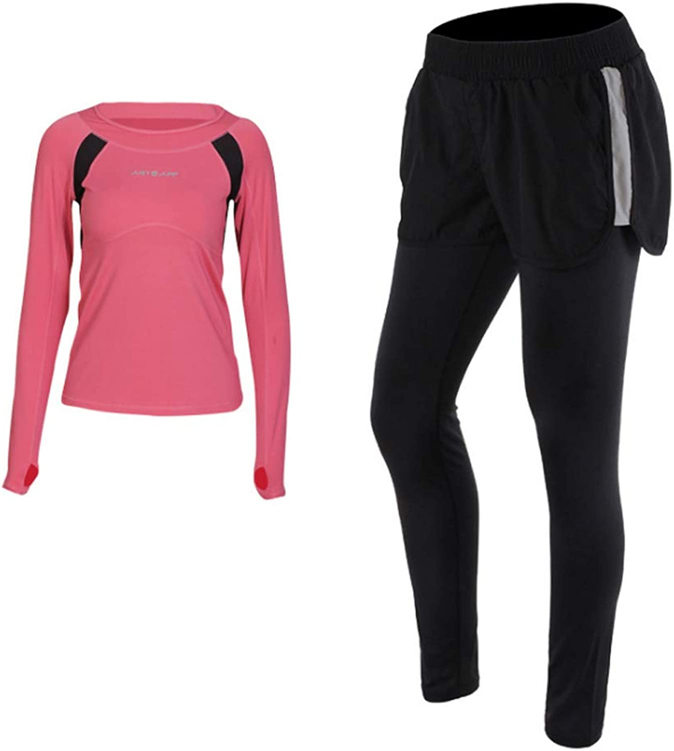 Women's Yoga Clothing Sportswear LongSleeved Breathable and QuickDrying Fitness Clothes Gym Running Fitness Clothes