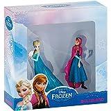 Bullyland 13063–Figura de Juguete Set, Walt Disney Frozen Mini, Anna y Elsa , color/modelo...