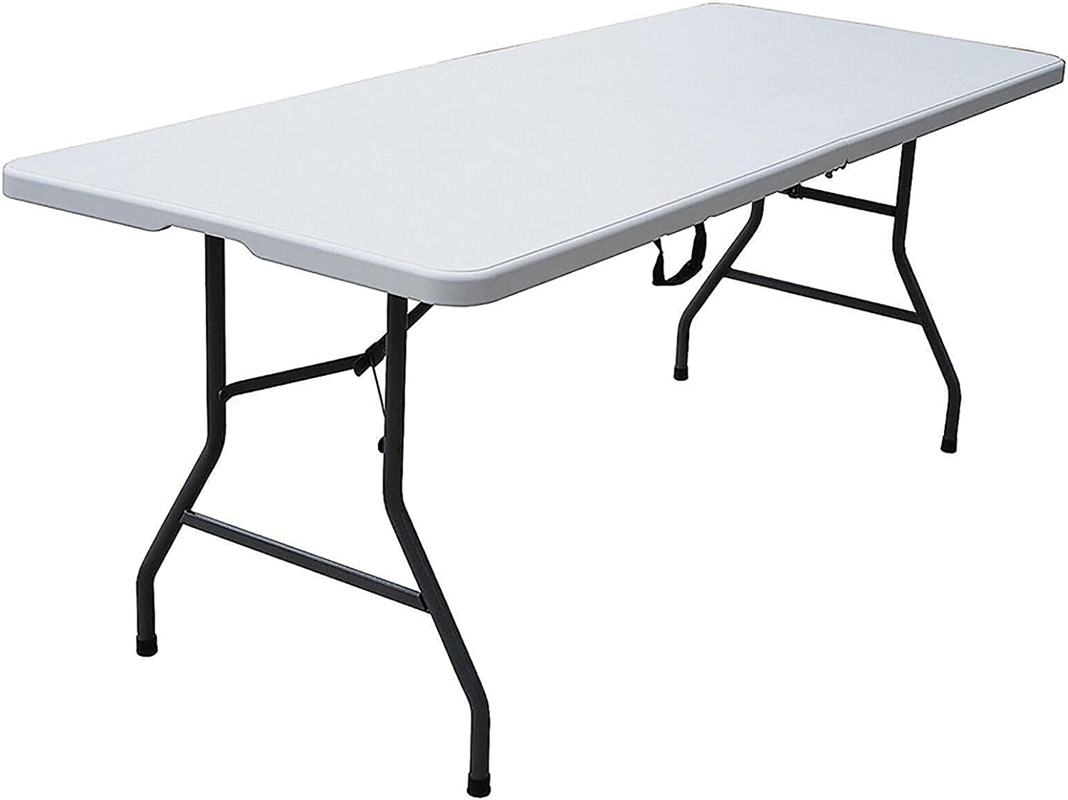 6 Foot Fold in Half Limited Special Price Desk Folding White Banquet Max 88% OFF Table