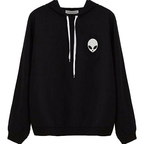 043a668fd7ae Froomer Teens Girls et Print Long Sleeve Hoodie Sweatshirt