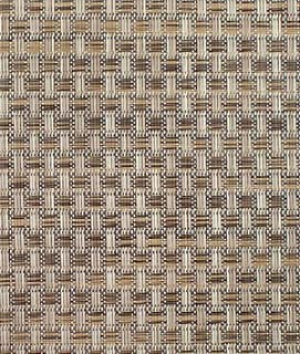 Phifertex PVC Wicker Weaves - Veranda Nutmeg Fabric - by the Yard