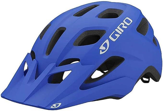Capacete Ciclismo Bike Giro Fixture Mtb Enduro Speed Azul 54-61cm