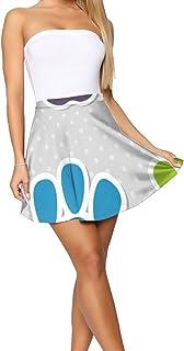FFMMdog Design Theme Summer Women's Shorts Skirt Cute Bookshelf