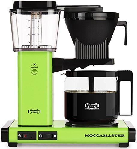 Technivorm Moccamaster 59609 KBG, 10-Cup Coffee Maker,...