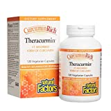 Natural Factors - CurcuminRich Theracurmin 30mg, Inflammation Support for Joints, Heart, and Circulation
