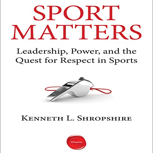 Sport Matters audiobook cover art