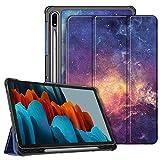 Fintie SlimShell Funda para Samsung Galaxy Tab S7 11' 2020 con Soporte para S Pen - Carcasa Delgada y Ligera con Función de Auto-Reposo/Activación para Modelo de SM-T870/T875, Galaxia