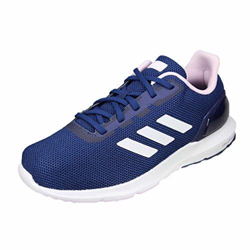 Adidas Cosmic 2, Zapatillas de Entrenamiento Mujer, Azul (Dark Blue/Footwear White/Aero Pink 0), 36 EU