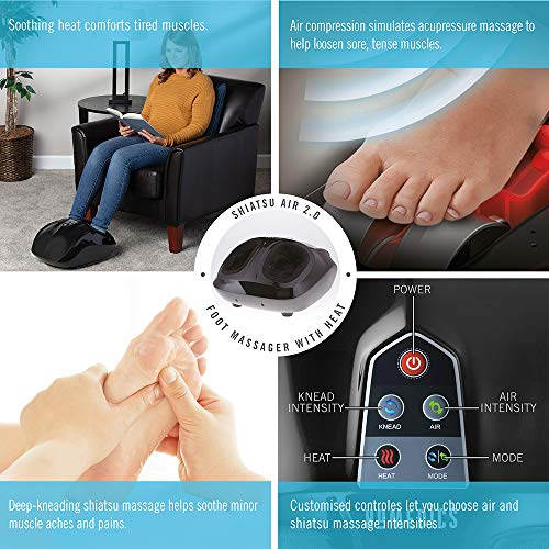 HoMedics Shiatsu Air Pro Foot Massager